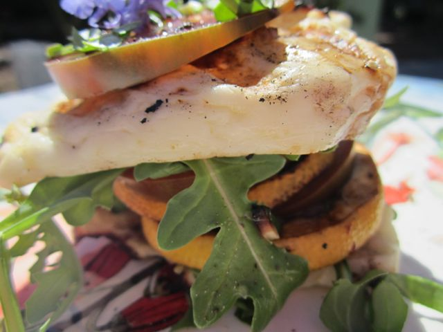 halloumi stacks...the cheese you can grill!