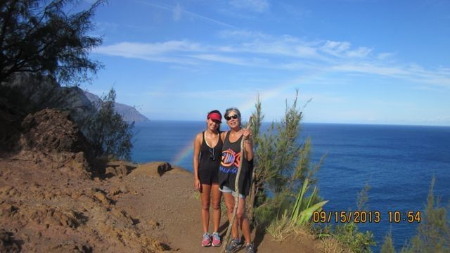 hiking the NA PALI coast...